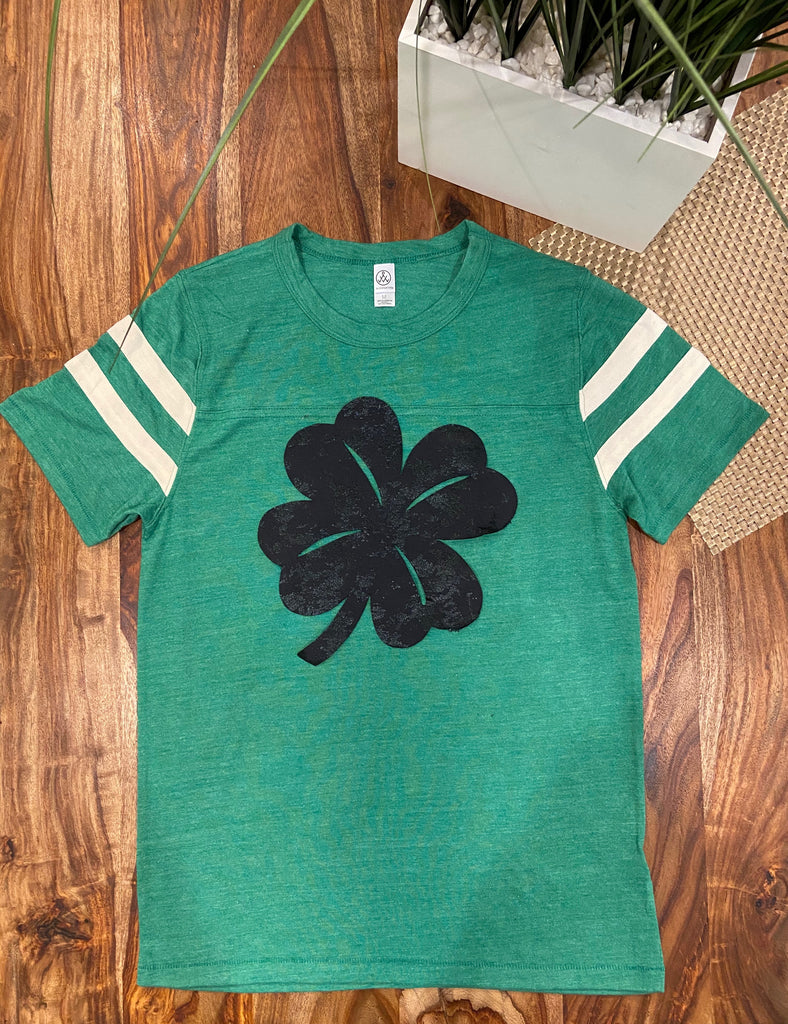 FOOTBALL TEE- *FIVE* ST. PATTIE'S DAY DESIGNS