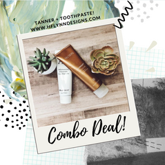 COMBO PACK: SELF TANNER + WHITENING TOOTHPASTE
