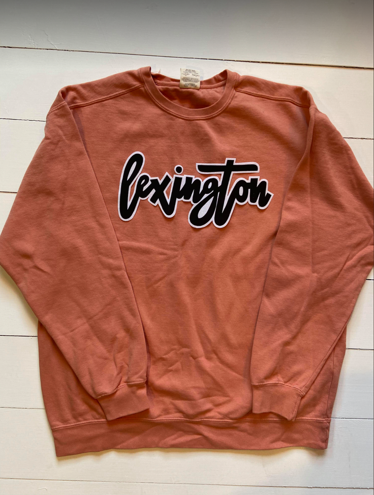 LEXINGTON - ORANGE COMFORT COLORS CREW