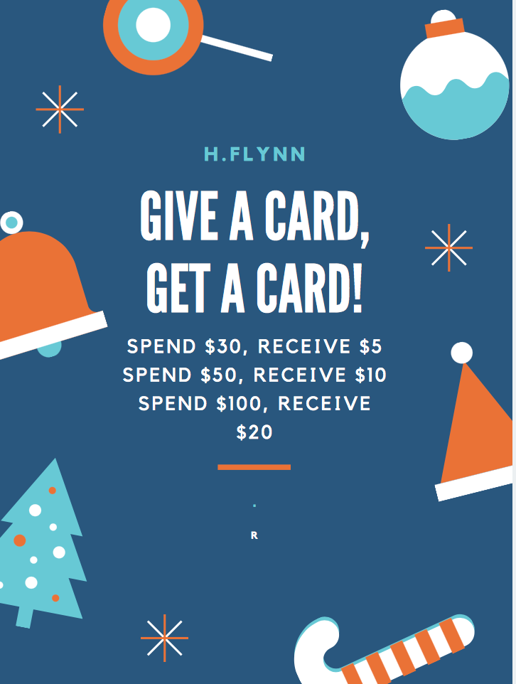 GIVE A CARD, GET A CARD! *GIFT CARD SPECIAL*