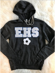 EHS + SOCCER BALL ECO-FLEECE HOODIE