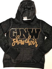 GINW SHOW CHOIR ACID WASH HOODIE
