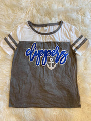 CLIPPERS + ANCHOR STADIUM TEE