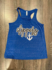 CLIPPERS BLUE RACERBACK TANK
