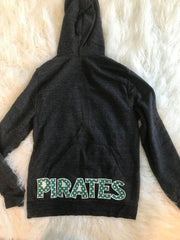 PIRATES ZIP UP HOODIE