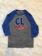 CL PATRIOTS BASEBALL TEE- YOUTH + ADULT