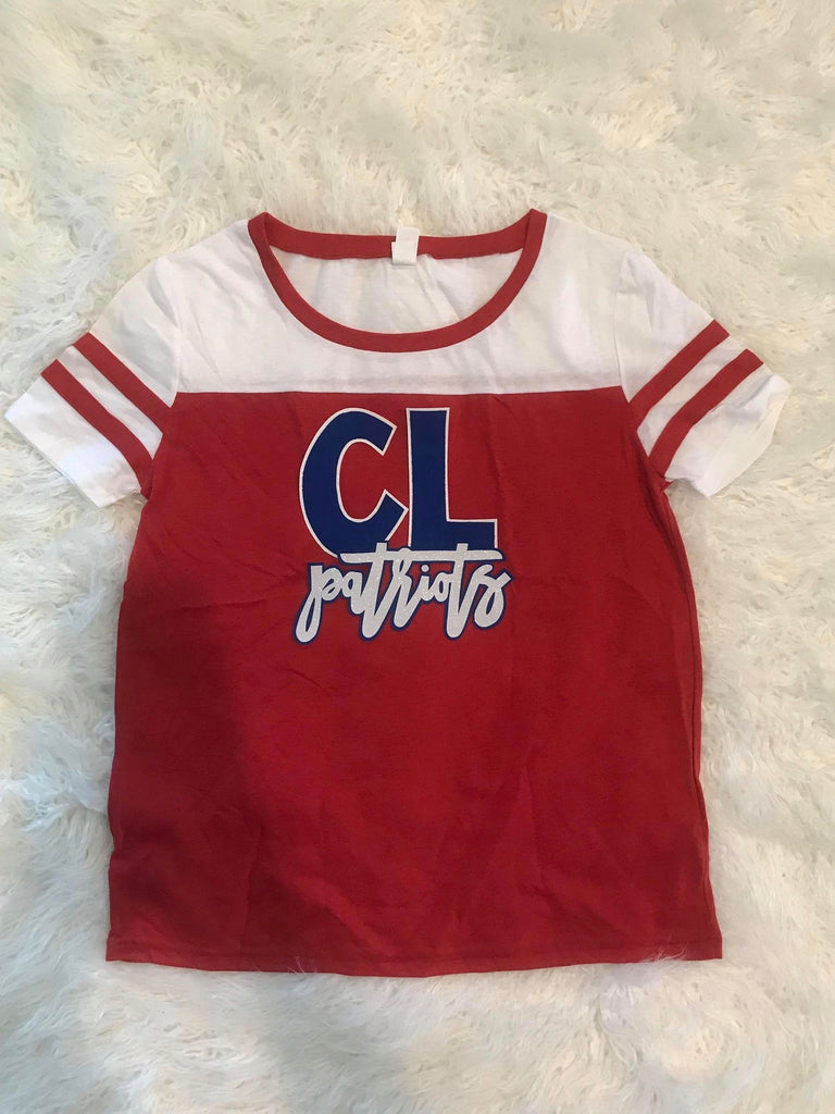 CL PATRIOTS STADIUM TEE- YOUTH + ADULT