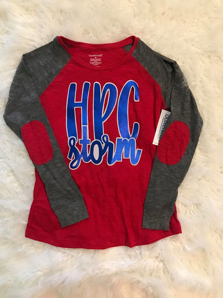 HPC STORM RED PREPPY PATCH