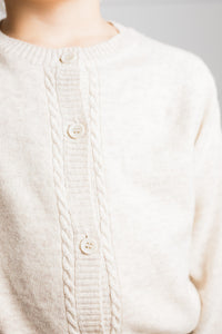 Oatmeal Molly Cardigan