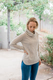 Almond Cowl Swing Jumper