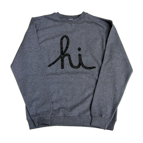 Hi Charcoal Grey Sweatshirt
