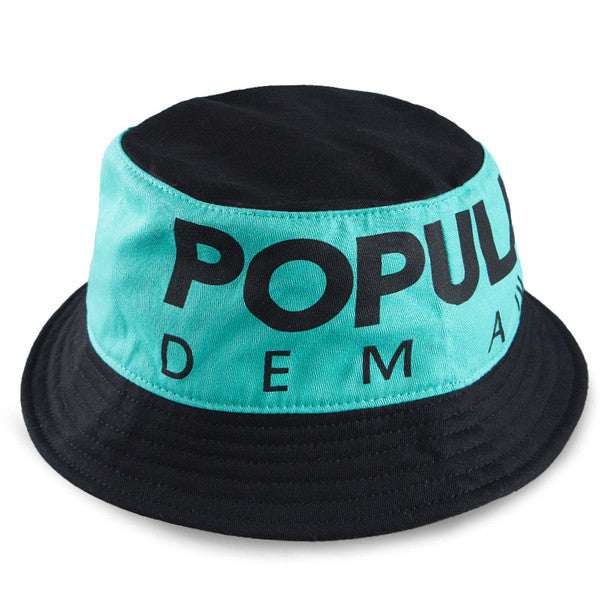 Popular Bold Bucket / Mint Black