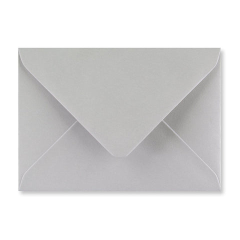 Light Grey Envelopes Diamond Flap Gummed - Envelope Kings