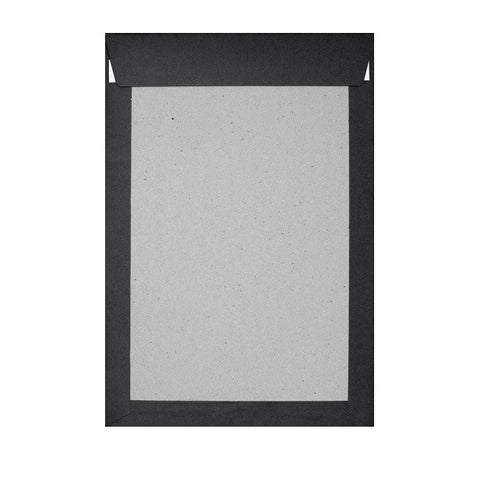 Black Board Back Pocket Peel & Seal - Envelope Kings