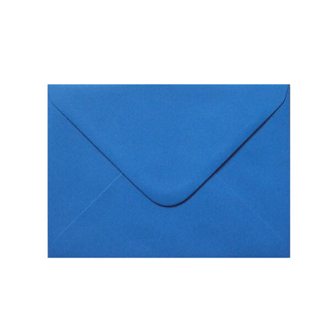 Kingfisher Blue Diamond Flap Gummed - Envelope Kings