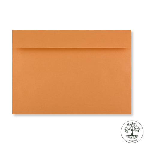 Tangerine Orange Envelopes by Clariana - Envelope Kings