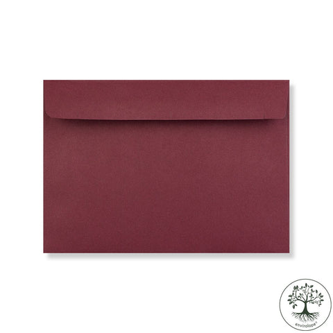 Burgundy Envelopes by Clariana - Envelope Kings