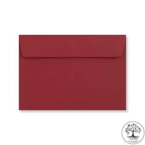Dark Red Envelopes by Clariana - Envelope Kings