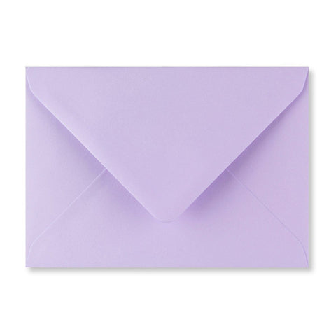 Lilac Envelopes Diamond Flap Gummed - Envelope Kings