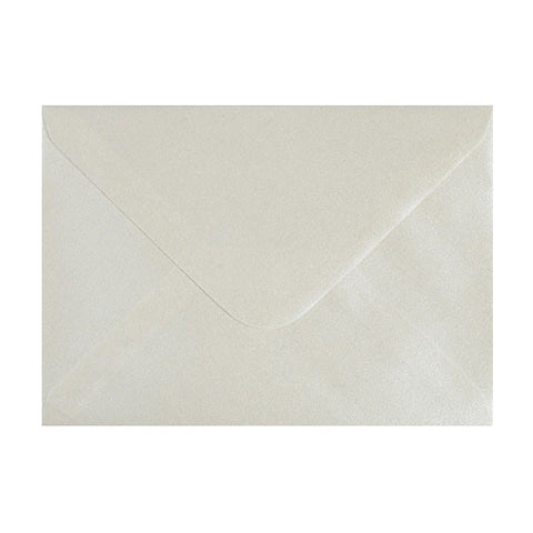 Oyster Lustre Diamond Flap Gummed - Envelope Kings