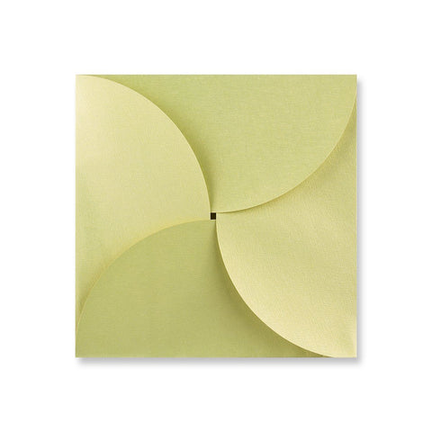 Bean Green Pouchette Petal Envelopes