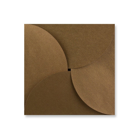 Bronze Pouchette Petal Envelopes