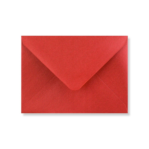 Cardinal Red Pearlescent Envelopes - Envelope Kings