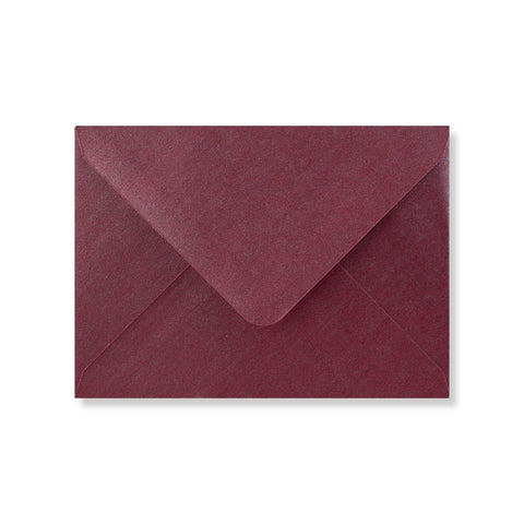 Aubergine Pearlescent Envelopes - Envelope Kings