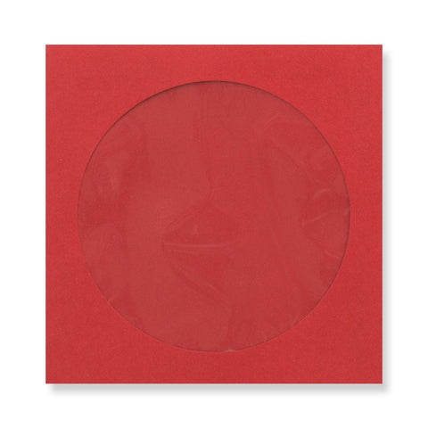 Dark Red CD Envelopes - Envelope Kings