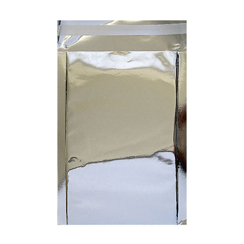 Silver Gloss Metallic Foil Bags Pocket Peel and Seal - Envelope Kings