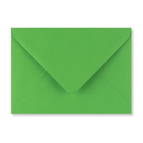 Fern Green Envelopes Diamond Flap Gummed - Envelope Kings