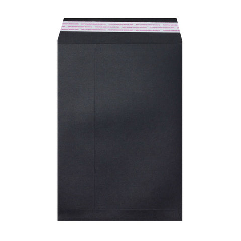 Black Post Marque Peel & Seal - Envelope Kings
