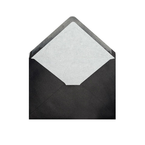 Black - White Tissue Lined Envelopes - Envelope Kings