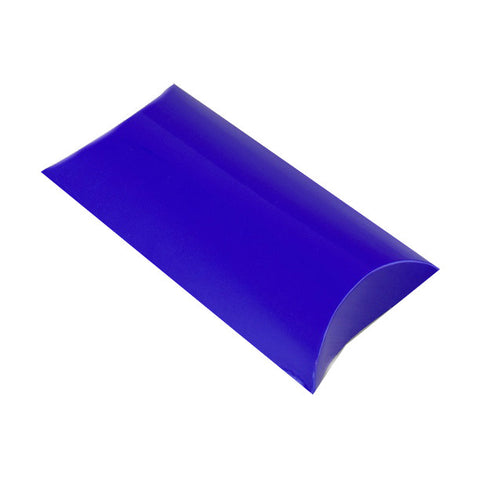 Blue Pillow Box - Glossy - Envelope Kings