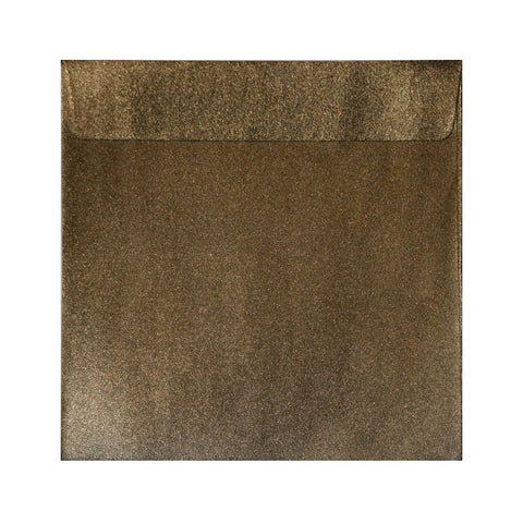 Bronze Pearlescent Envelopes Wallet Peel and Seal - Envelope Kings