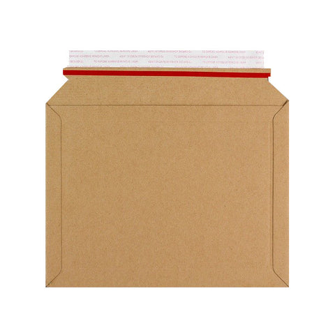 Brown Capacity Book Mailers Peel & Seal with Easy Open Red Rippa Strip - Envelope Kings