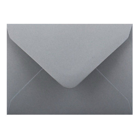 Dark Grey Diamond Flap Gummed - Envelope Kings