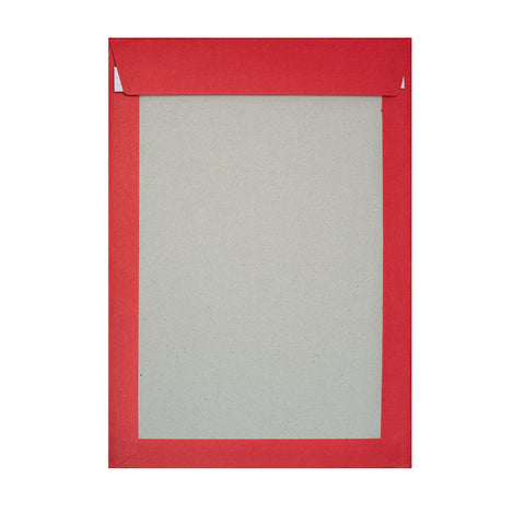 Dark Red Board Back Pocket Peel & Seal - Envelope Kings