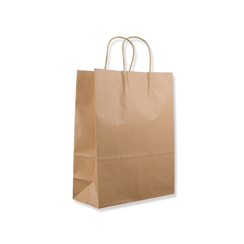 Brown Paper Carrier Bags - Twisted Handles