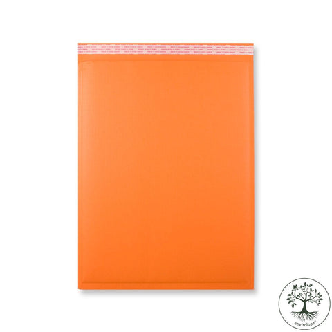Orange FluteLope Environmentally Eco Friendly Bags - Envelope Kings