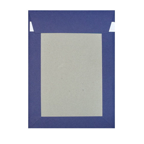Navy Blue Board Back Pocket Peel & Seal - Envelope Kings