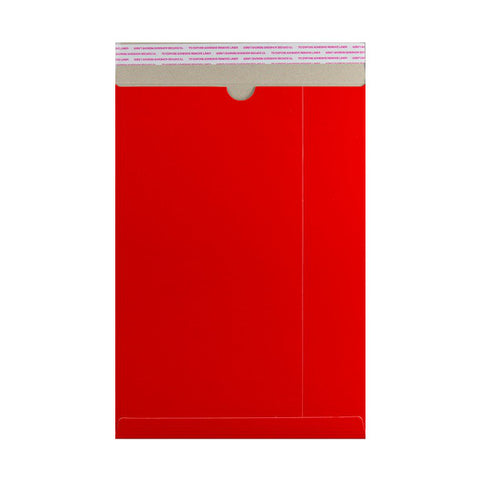Red All Board Pocket Peel & Seal - Envelope Kings