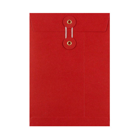 Red String and Washer Envelopes - Envelope Kings