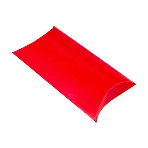 Red Pillow Box - Glossy - Envelope Kings