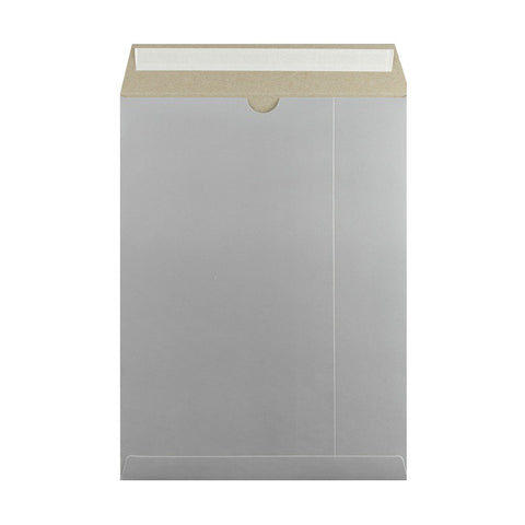 Silver All Board Pocket Peel & Seal - Envelope Kings