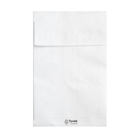Tyvek White Tear Resistant Gusset Peel & Seal - Envelope Kings