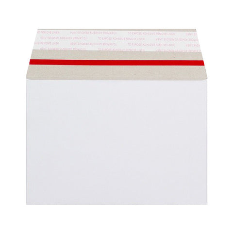 White All Board Wallet Peel & Seal - Envelope Kings