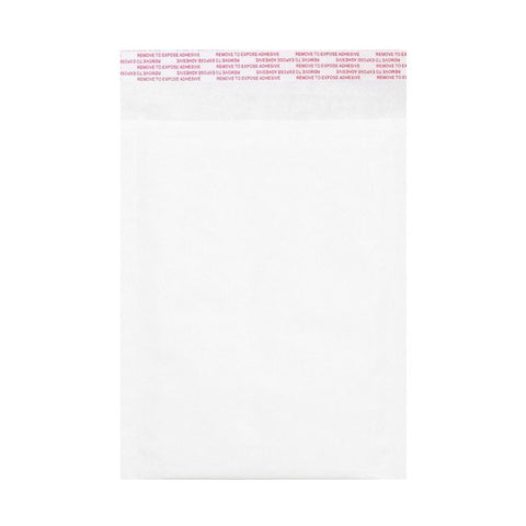 White Kraft Bubble Bags Pocket Peel and Seal - Envelope Kings