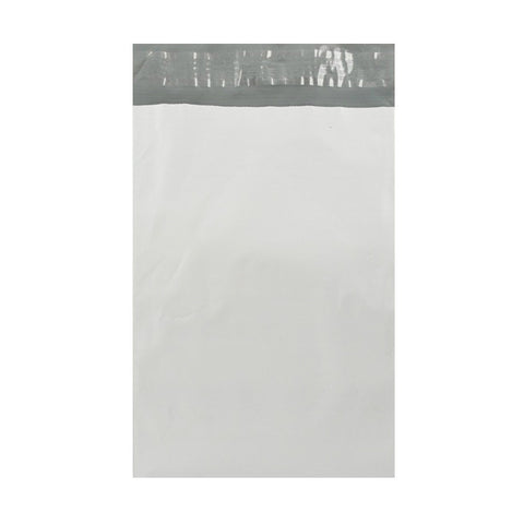 White Polythene Mailing Bags Pocket Peel and Seal - Envelope Kings