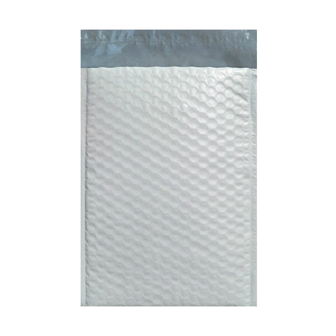 White Recyclable Poly Bubble Bags Pocket Peel and Seal - Envelope Kings